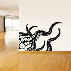 Wall Decal Vinyl Sticker Decals Octopus Sprut by StickersForLife, $28.99