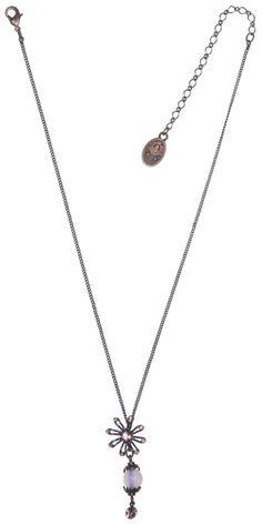 KONPLOTT Halskette Y-Form Verlorene Unschuld am Gartenzaun pink