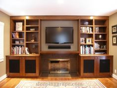 cabinets have speaker mesh panels so that the audio visual equipment can breathe and the remote can operate with the doors closed.