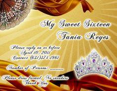 Tarjeta de Confirmación de Invitados #sweet15 #quinceanera #rsvp #DaVinci