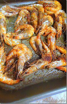 Buttery shrimp