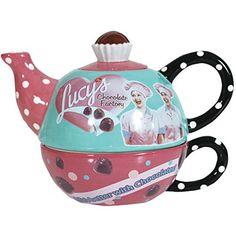 I Love Lucy Chocolates Teapot