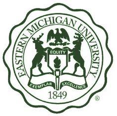 Eastern Michigan University Eagles seal