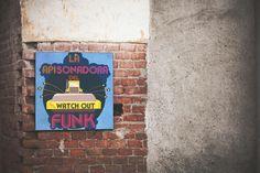 Cartel de La Mottora para la apisonadora del Funk