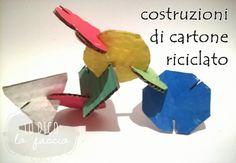 costruzioni di cartone riciclato