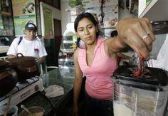 Frog Juice (Peru) Peruvian Drinks, Juice, Exotic, Foods, Food, Food Food, Juicing, Food Items