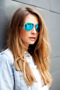 #face #sunglasses #michaelkors  #hairstyle