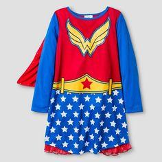 Girls' Wonder Woman Nightgown : Target