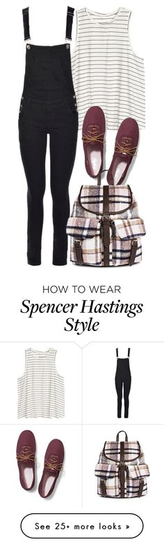 """""""Spencer Hastings inspired back to school outfit"""" by liarsstyle on Polyvore featuring Boohoo, Keds and Under One Sky"""