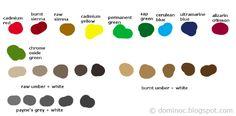 Digital Traditional Color Palette