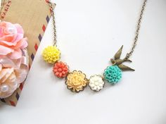 Colourful Fantasy Wonderland Spring Garden by AnnMichTreasureBox