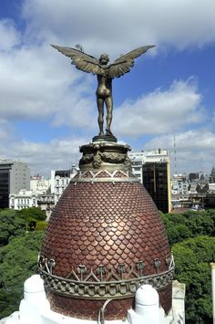 Una cúpula de Buenos Aires.