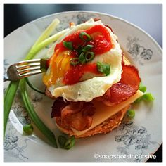 Peppy Parmesan Egg Toast