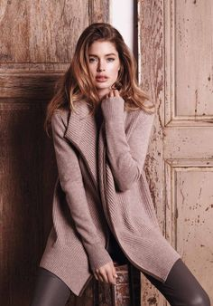 Doutzen Kroes Looks Cozy Chic in Repeat Cashmere