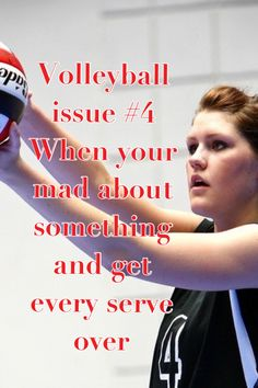 #volleyball yeah or when you hear the other coach saying, it'll barely get over and you're like- girlfriend do you want to be hit by a jump serve?