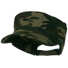 Adjustable Trendy Army Style Cap - Camo