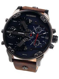 Ebay Herrenuhren Diesel Herren Uhr Chronograph DZ7314 Leder Braun - Neu mit Etikett: EUR 88,88 (0 Gebote) Angebotsende:…%#Quickberater%