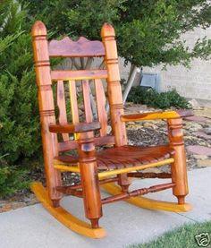 Indoor Outdoor Patio Cedar Jumbo Rocking Chair Rocker | EBay
