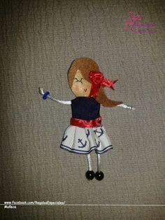 Muñeca marinera.  www.facebook.com/RegalosEspeciales/