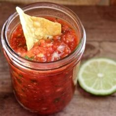 Chipotle Pantry Salsa - A quick and easy homemade salsa with a good smoky kick