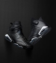 Air Jordan 6 Black Cat Release Date. The Air Jordan 6 Black Cat is the last Air Jordan release for 2016 that features perforated and smooth leather with Latest Sneakers, Sneakers Fashion, Air Jordan Sneakers, Sneakers Nike, Zapatillas Jordan Retro, Reebok, Nike Free Runners, Fresh Shoes, Hype Shoes