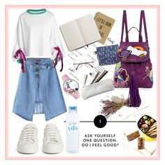 """""""back to school bus"""" by rindularas ❤ liked on Polyvore featuring West Elm, WithChic, Simone Rocha, Shinola, Marc Jacobs and Whimsical Watches"""