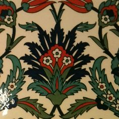 Look at these cool tiles we got in Iznik ... Now - what to do with them?