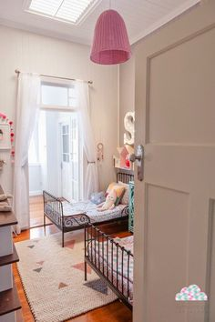 the boo and the boy: shared kids rooms