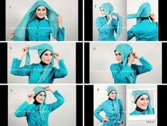 Tutorial Hijab Rectangular