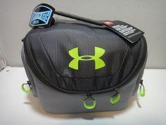 794ba23d66 Under Armour Insulated 12 Can Cooler Thermos Flex a Guard Color Gray Green # Underarmour #
