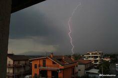 I got it! #rain #flashes #rome