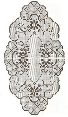 This Pin was discovered by sem Crochet Waffle Stitch, Annie's Crochet, Fillet Crochet, Crochet Books, Crochet Home, Irish Crochet, Vintage Crochet, Crochet Tablecloth Pattern, Crochet Doily Patterns