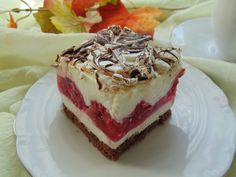 Malinowa delicja -galeria-megi65- slajd1 Polish Desserts, Polish Recipes, Vegan Desserts, Vegan Challenge, Vegan Curry, Vegan Meal Prep, Vegan Thanksgiving, Vegan Kitchen, Dessert Drinks
