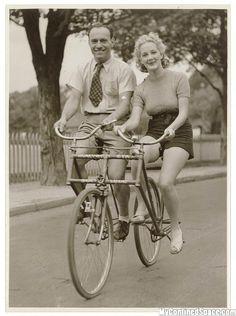 Parallel tandem, 1950s.