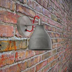 E2 Contract Lighting | Products | Concrete Dome Wall Light CL-32478 and CL-32479 | Contemporary Concrete Dome Wall Light, Dark grey CL-32478 & grey CL-32479