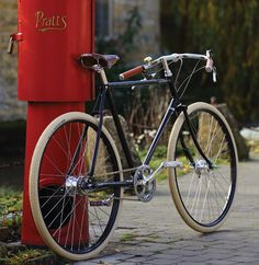 Pashley Guv'nor 3 Speed Commuter Bike Made In England – Very Sleek and Stylish - Back to the 1930s, now that's RETRO. Style and elegance combined with modern bicycle components. The Pashley Cycle Company recreated this bike from the old blueprints, but designed it with modern materials and cool elegant appointments. You will stand out in the crowd with this cool bike. It sports a Pashley built Reynolds 531 diamond frame - #englishbike #pashley #citybike #madeinengland #ad