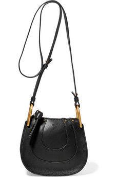 Hayley nano textured-leather shoulder bag
