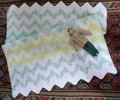 Crochet Ripple Baby Blanket Pattern