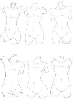 「好みの体の描き方を探したい。」/「あめぽん」の漫画 [pixiv]