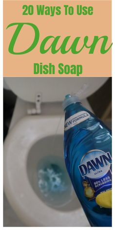 Diy Home Cleaning, Household Cleaning Tips, Cleaning Recipes, House Cleaning Tips, Cleaning Hacks, Bathroom Cleaning, Dawn Cleaner, Keep It Cleaner, Dawn Dishwashing Liquid
