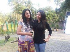 Namitha Pramod With her Friend