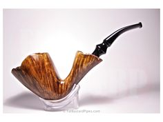 Fat Bastard Danish Style Freehand pipe with Danish stem. Danish Style, Tobacco Pipes, Denmark, Smoking, Fat, Decor, Pipes, Dekoration, Decoration