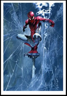 I put Spiderman on a