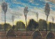 "New artwork for sale! - "" Landscape With Hayricks by Nagy Istvan "" - http://ift.tt/2r1mVSn"