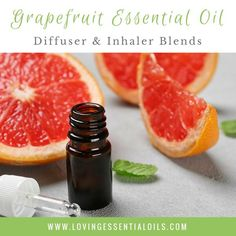 Grapefruit is one of my favorite essential oils to diffuse. The aroma is so yummy and uplifting. While grapefruits are usually tart and tangy, the essential oil has a sweet and fruity fresh smell. Grapefruit smells lovely with pine essential oils like white fir, douglas fir or cypress. I also like grapefruit and franki