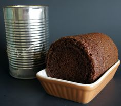 Homemade Boston Brown Bread my Nana made this every Christmas growing up. We would spread butter on it. Yummy.