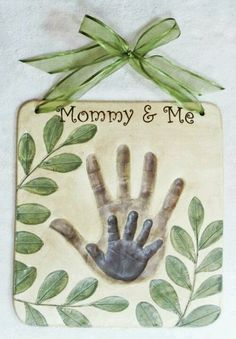 Sweet handprint craft... Maybe a bit much for a camp craft though.