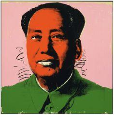 Screenprint: 'Mao', by Andy Warhol, 1972.
