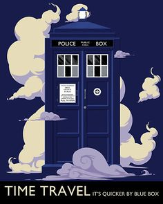 Travel by TARDIS ... and ... yes, it's bigger on the inside ...