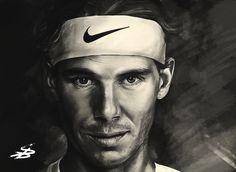 Rafael Nadal by MrLizaveta